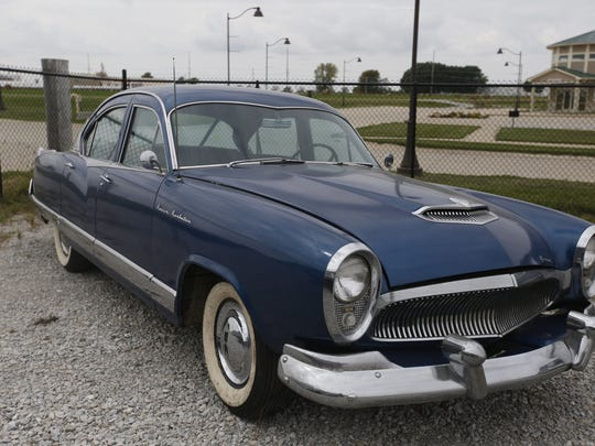 1954 Kaiser Manhattan 4-door Sedan. Rare car collection of the late Grant J. Quam to be auctioned Sept. 26th in Ames, Iowa, Wednesday, Sept. 16, 2015.