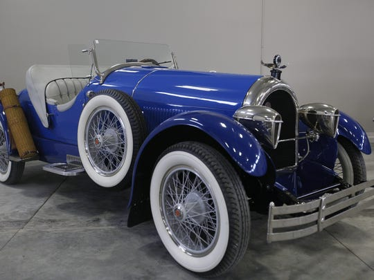 1925 Kissel Gold Bug Speedster. Rare car collection of the late Grant J. Quam to be auctioned Sept. 26th in Ames, Iowa, Wednesday, Sept. 16, 2015.