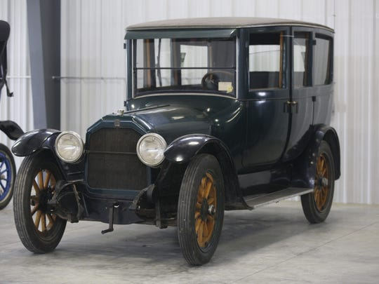 1918 Peerless 4-door Sedan passenger limo. Rare car collection of the late Grant J. Quam to be auctioned Sept. 26th in Ames, Iowa, Wednesday, Sept. 16, 2015.