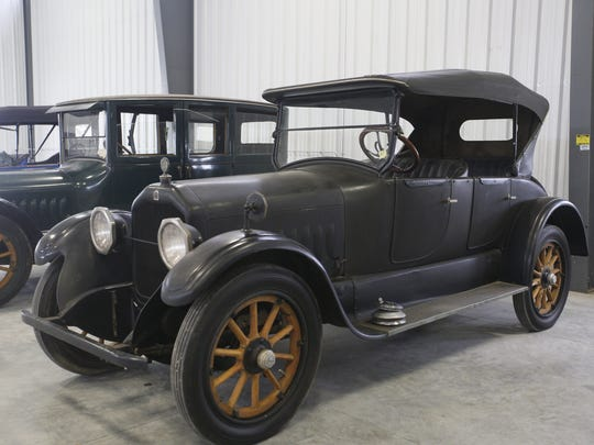 1920 Peerless Model 56 4-door Roadster. Rare car collection of the late Grant J. Quam to be auctioned Sept. 26th in Ames, Iowa, Wednesday, Sept. 16, 2015.
