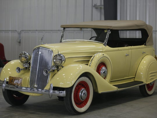 1934 Chevrolet Master Phaeton. Rare car collection of the late Grant J. Quam to be auctioned Sept. 26th in Ames, Iowa, Wednesday, Sept. 16, 2015.