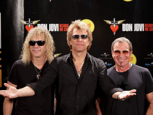Bon Jovi Concert in Madrid - Photocall