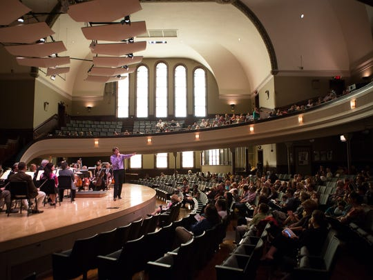 The RPO performs an OrKIDStra Concert in Hochstein