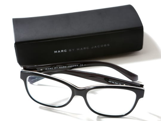 Personal item for Styemaker Elise Buck.  Marc Jacobs glasses if she is at the computer for very long but the also are their own fashion accessory.