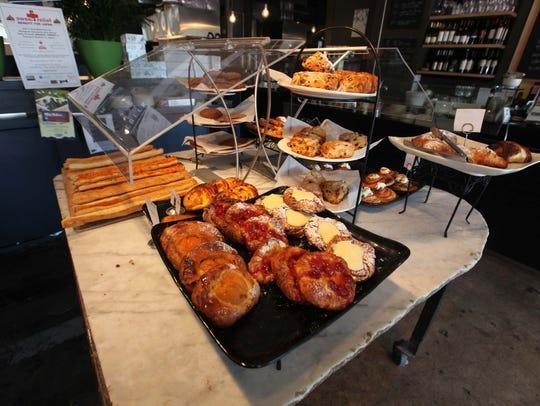 Pastries at  La Mie
