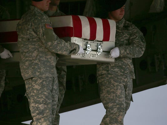 Dignified Transfer Held For First US Soldier Killed In Iraq In Four Years