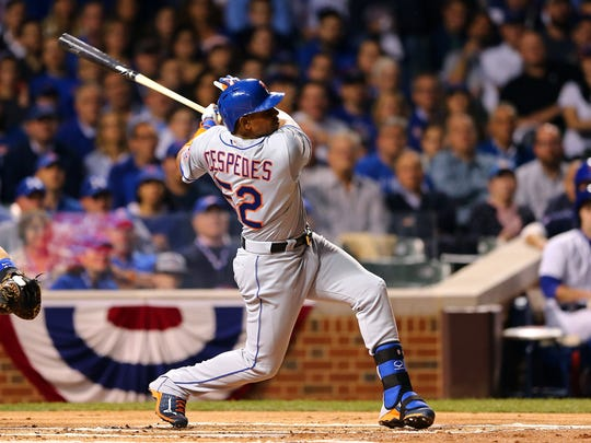 Yoenis Cespedes was the big bat the Mets were missing prior to the trade deadline.