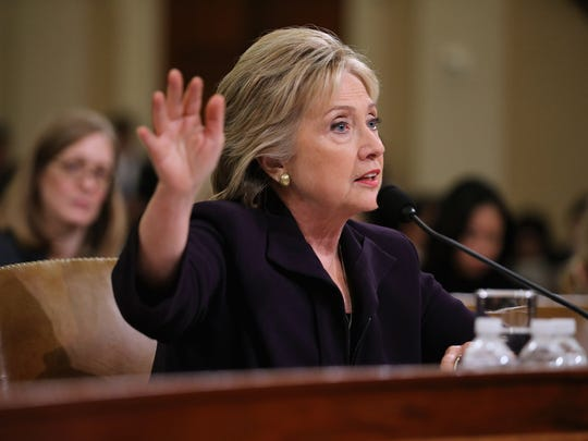 Hillary Clinton testifies before the House Select Committee