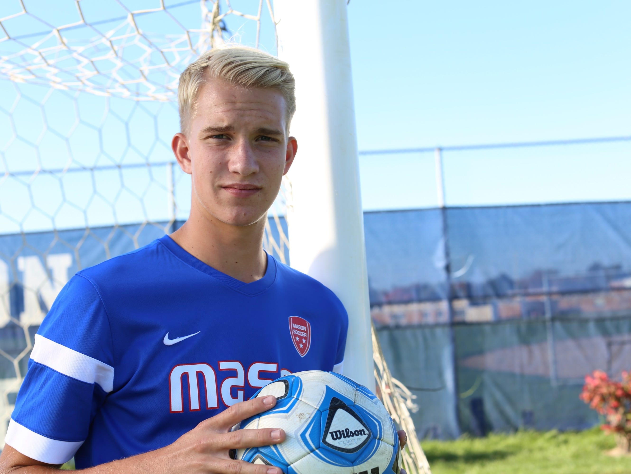 Mason senior Holden Dippel's awkward goal was voted the LSJ prep video of the week.