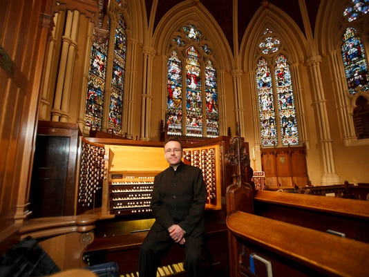 Organist and composer David Briggs, Artist-in-Residence at St. James Anglican Cathedral, Toronto, Canada.
