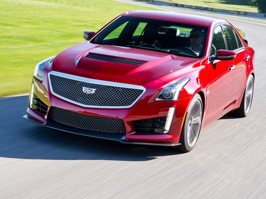 Review: Cadillac CTS-V is blazingly fast