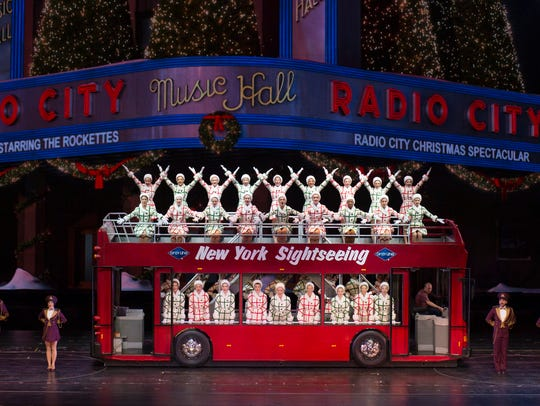 """A scene from the """"Radio City Christmas Spectacular"""""""