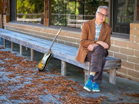 Bill Frisell performs with his trio on Tuesday night in Opperman Music  Hall.
