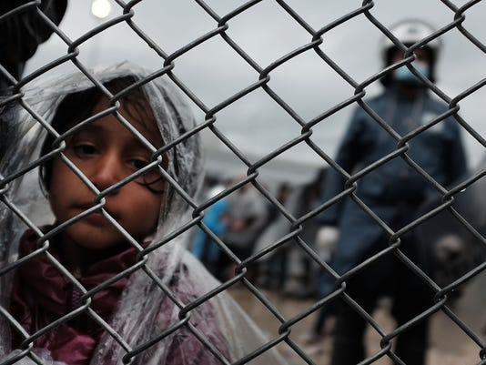 Greek Island Of Lesbos Continues To Receive Migrants Fleeing Their Countries
