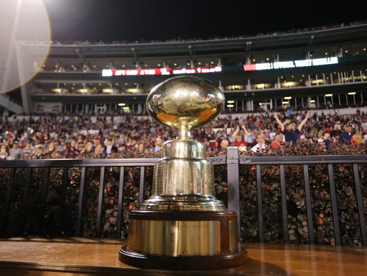 2015 Egg Bowl MSU Ole Miss