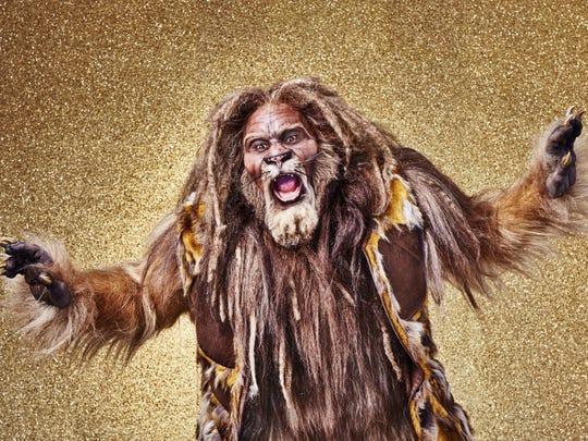"David Alan Grier is Lion in ""The Wiz Live!"""