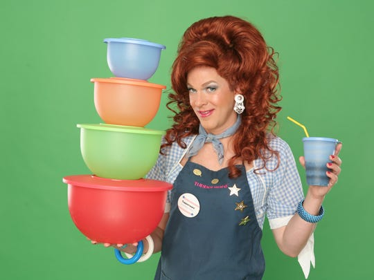 """""""Dixie's Tupperware Party"""" made her one of the company's top sellers worldwide."""