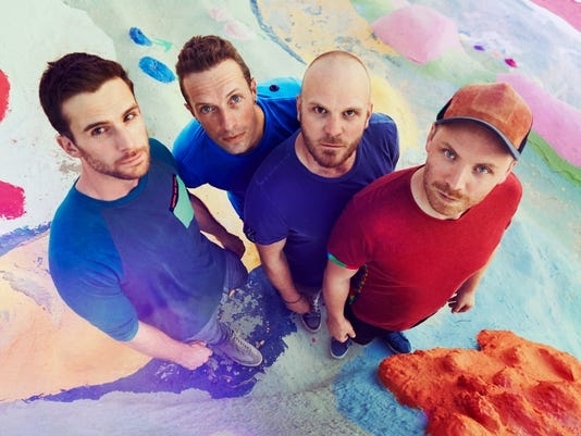 XXX USAT_EXCLUSIVE_COLDPLAY LOOKING UP JAMES MARCUS HANEY