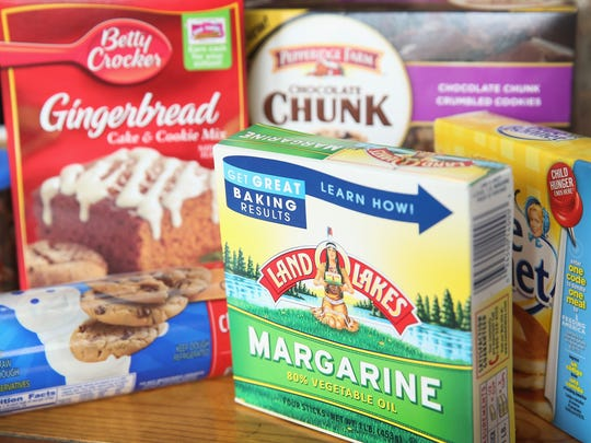 Food items that contain trans fat are shown on November