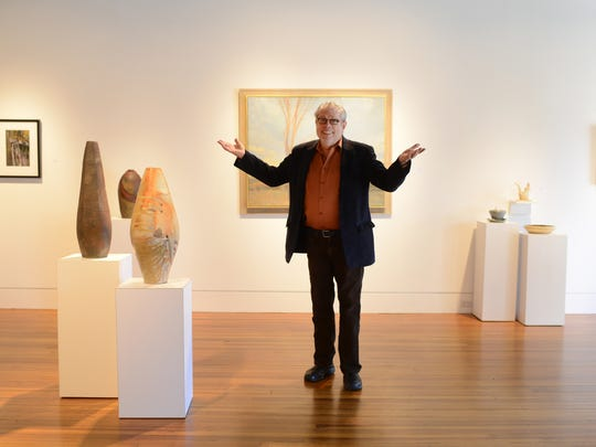 John Cram founded Blue Spiral 1, a downtown art gallery,