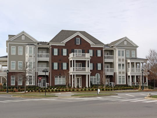 At Franklin's Westhaven community, condominiums are