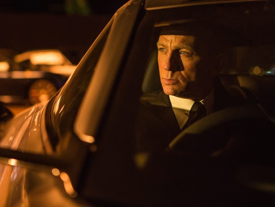 Daniel Craig stars as James Bond in 'Spectre.'