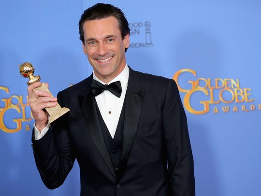 Actor Jon Hamm winner of Best Performance by an Actor