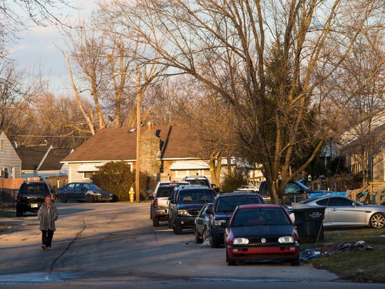 The Pleasant Ridge neighborhood in Charlestown, Ind.
