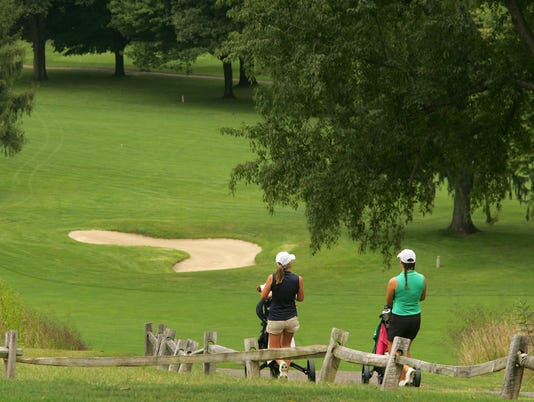 Licking County League meet at Denison Golf Club at Granville.