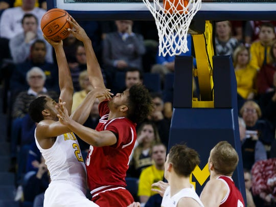Freshmen Juwan Morgan (right) and OG Anunoby have provided IU with a defensive edge.