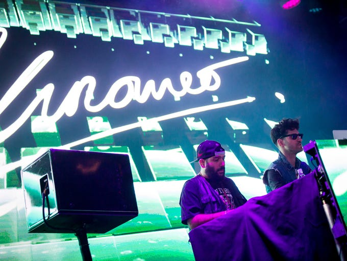 Chromeo performed a DJ set at Livewire in Scottsdale
