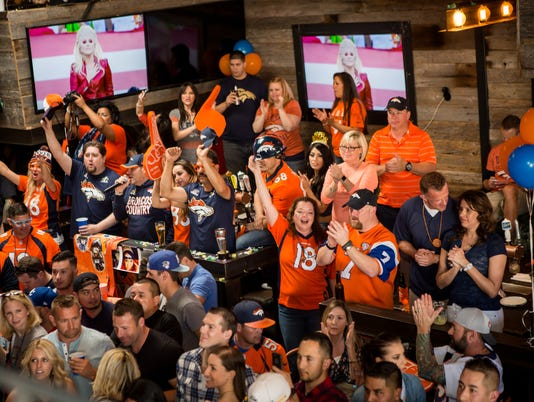 Broncos Super Bowl Party at Whiskey Row