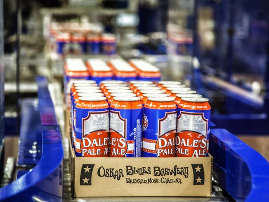 Local beer heads out of town