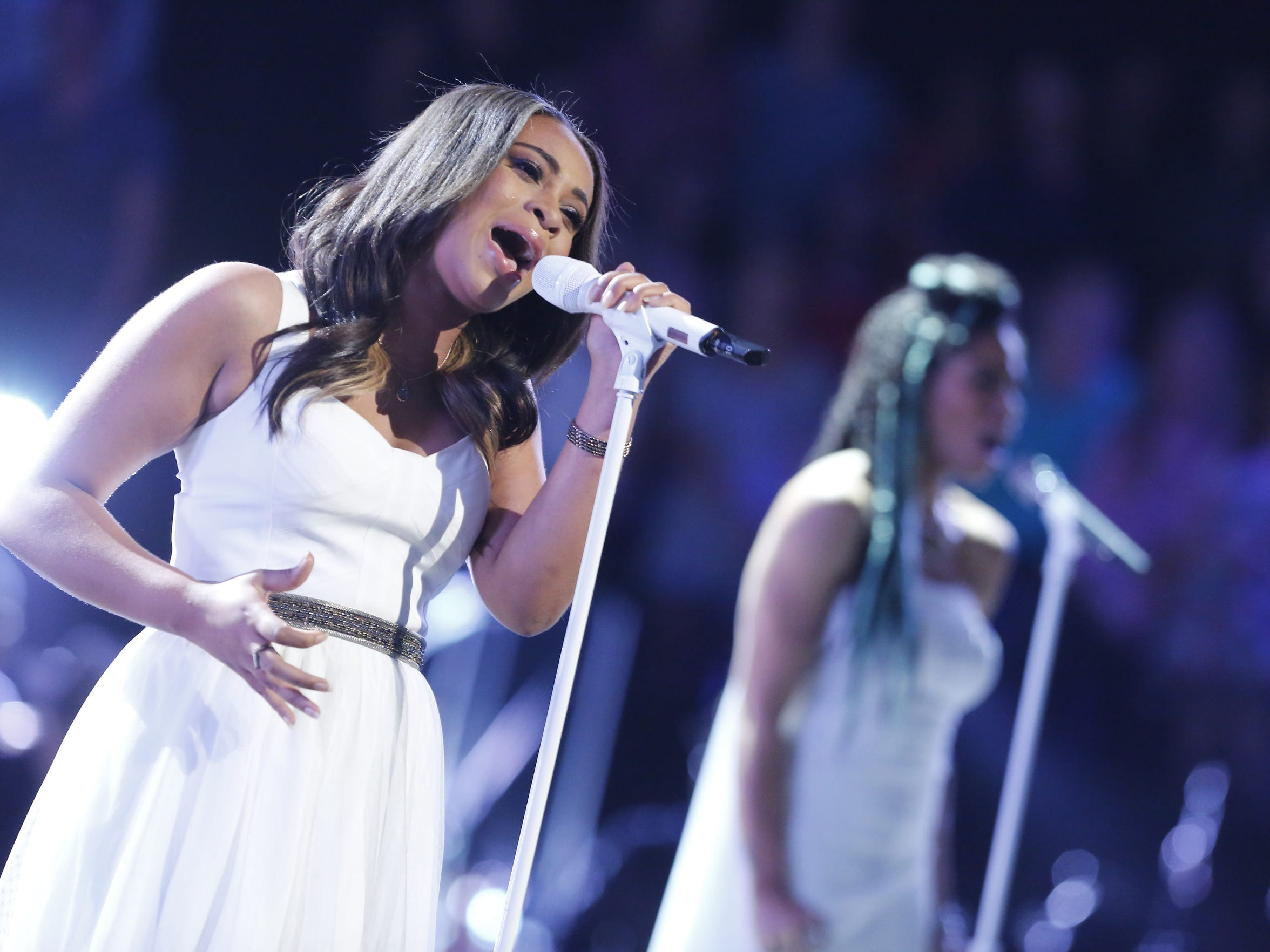 "Koryn Hawthorne of Abbeville was a final four during season eight of ""The Voice."""