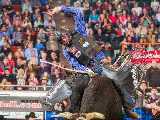 COdy Teel has been riding bulls since age 14 and the Champion Bull Riding member is currently the #2 ranked cowboy on the 2016 season.