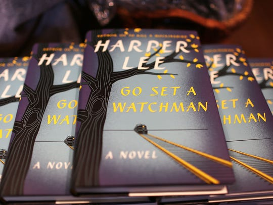 """480671302.jpg FILE - 19 FEBRUARY 2016:   Pulitzer Prize winning author of """"To Kill a Mockingbird,"""" Harper Lee, 89, has reportedly died. CORAL GABLES, FL - JULY 14:  The newly released book authored by Harper Lee, 'Go Set a Watchman', is seen on sale at the Books and Books store on July 14, 2015 in Coral Gables, Florida. The book went on sale today and is Lee's first book  since she released her classic, 'To Kill A Mockingbird' ,55 years ago.  (Photo by Joe Raedle/Getty Images)"""