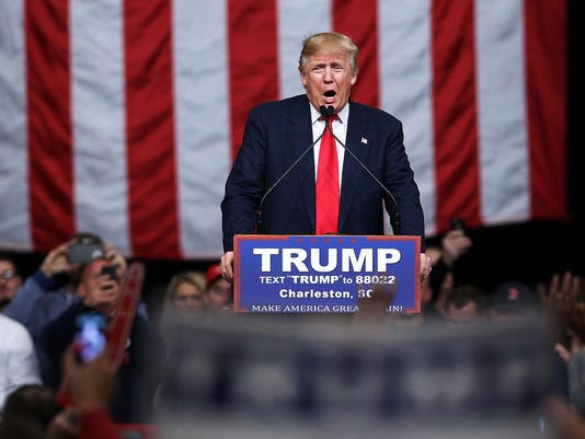 Donald Trump Campaigns Along SC Coast One Day Ahead Of Primary