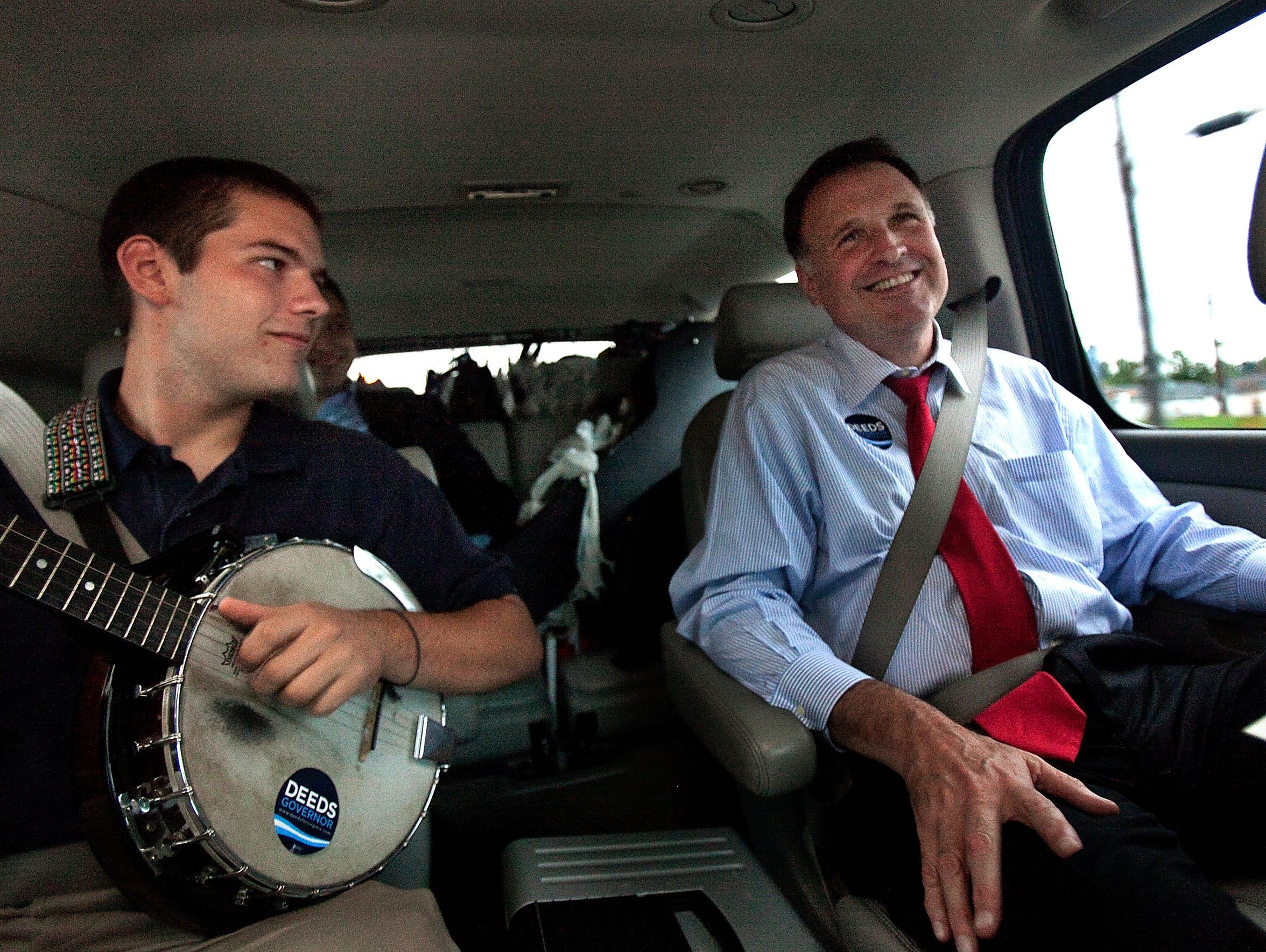 In a Sept. 25, 2009, photo, Democratic gubernatorial