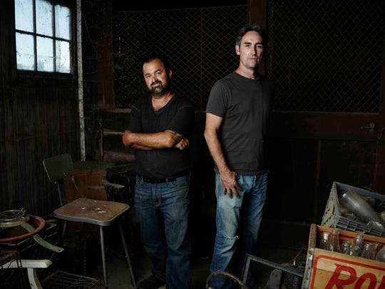 "Frank Fritz, Mike Wolfe and their team from the TV show 'American Pickers"" will film episodes of the hit History channel series in New York in May."