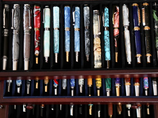 Dr. Saleem Seyal loves pens and has quite the collection