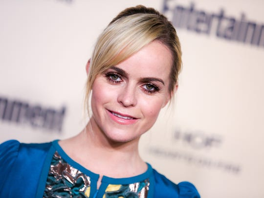 Taryn Manning arrives at the 2015 Entertainment Weekly Pre-Emmy Party at Fig & Olive on Friday, Sept. 18, 2015, in Los Angeles.