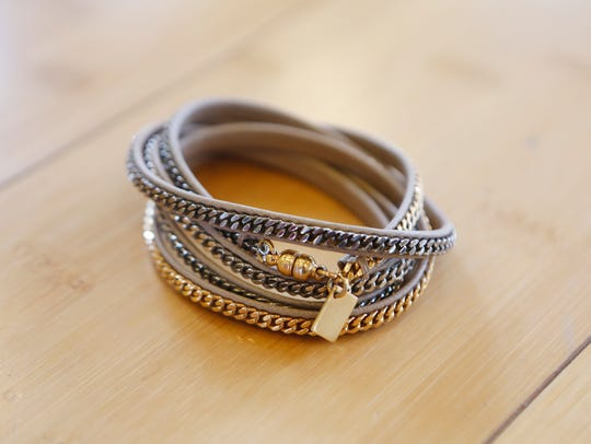 A bracelet owned by CJ Stylemaker Erica McDowell. March