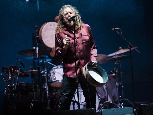 Robert Plant 2015 Lollapalooza Brazil - Day 1