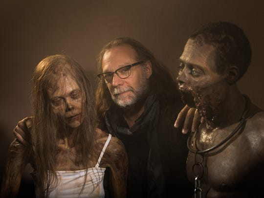 'The Walking Dead's' Greg Nicotero (alive, center)