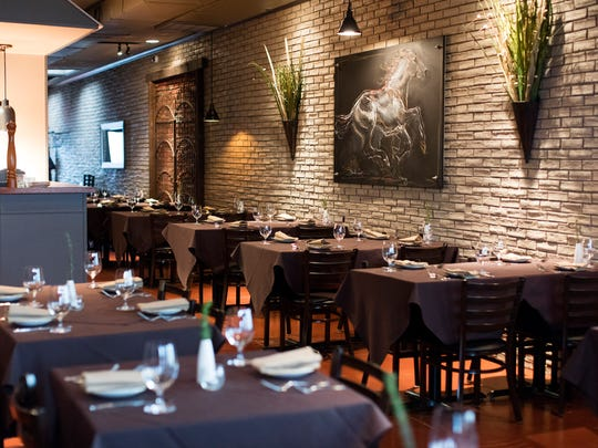 The Dining Room at La Chasse on Bardstown Road.