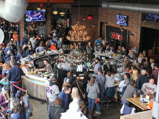 Punch Bowl Social, shown here on Opening Day 2016, is hosting a New Year's Eve party.