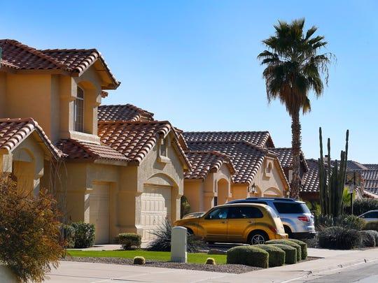 Typical home in Mesa Zip- 85210, in Mesa, AZ.