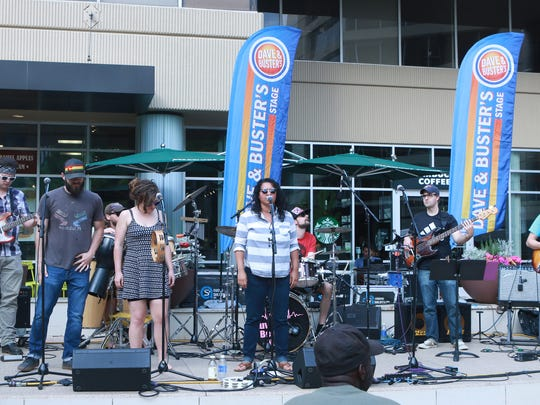 Piedmont Natural Gas Downtown Alive featuring the Local Green Family Band  Thursday April 21, 2016