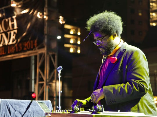 Questlove attends the Festa Italiana with Giada de Laurentiis opening night celebration of the third annual Los Angeles Food & Wine Festival on August 22, 2013 in Los Angeles, California.
