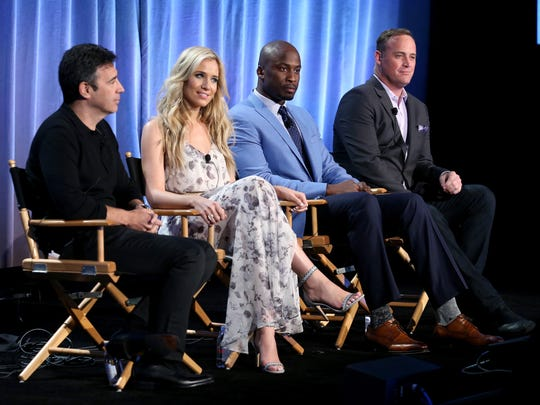 Producer Arthur Smith (from left) and TV personalities